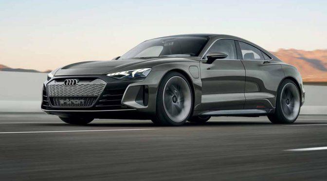 アウディ、「e-tron GTコンセプト」をロサンゼルスで発表