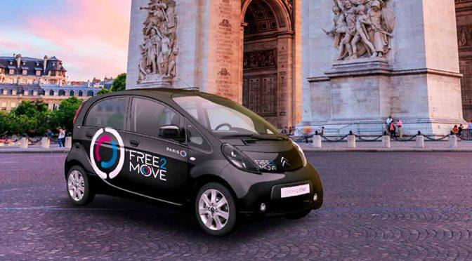 PSAのカーシェア「フリーツゥームーブ」、パリでEV配車開始