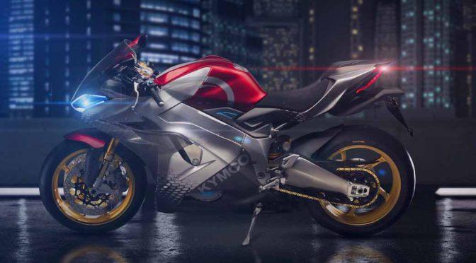 台湾キムコ、0→100・2.9秒の電動スーパーバイクを発表