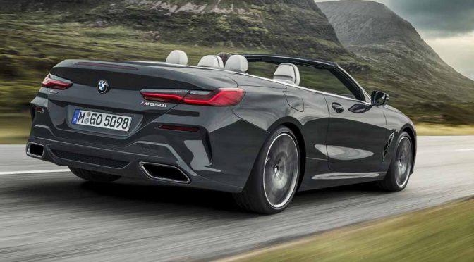 BMW、新型8シリーズ カブリオレ発表