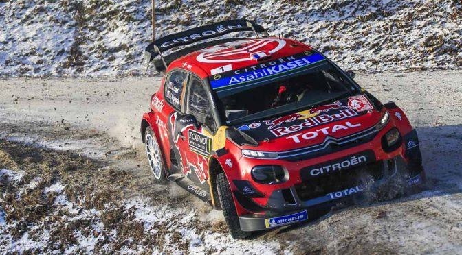 シトロエン、WRC100勝目をラリーモンテカルロで挙げる