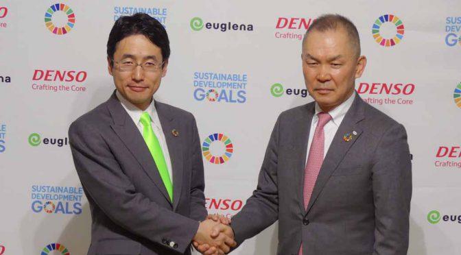 デンソーとユーグレナ、包括提携で日本初のバイオ燃料量産へ