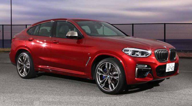 輸入車試乗会2019、BMW X4 M40i