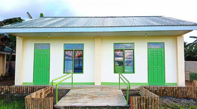 三菱自動車工業、フィリピンで小学校の新校舎建設を支援