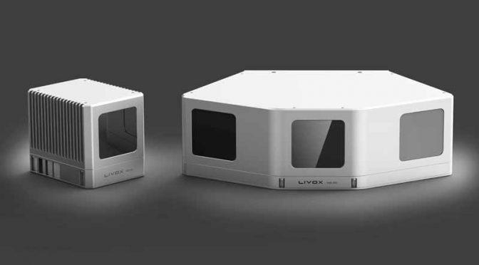 LIVOX、自動運転・ロボット用LiDARセンサーを7万円台で販売