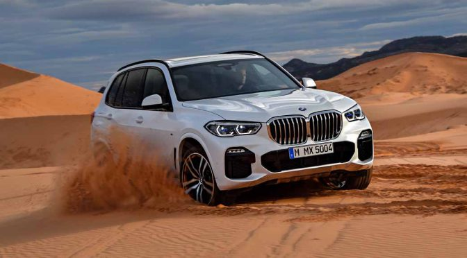BMW、新型X5発表