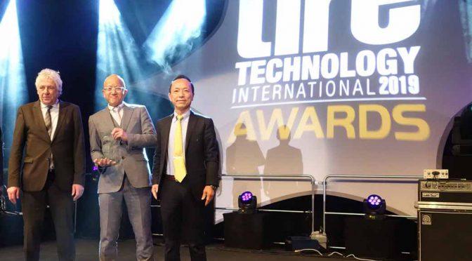住友ゴム工業の開発技術がタイヤテクノロジーオブザイヤー受賞
