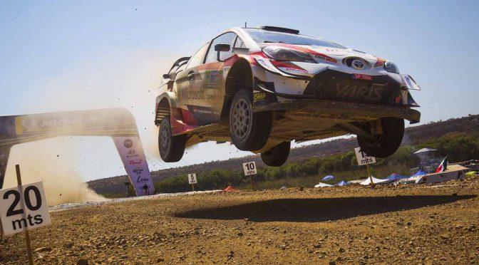 トヨタ、WRC第3戦ラリー・メキシコで製造メーカー首位を堅持
