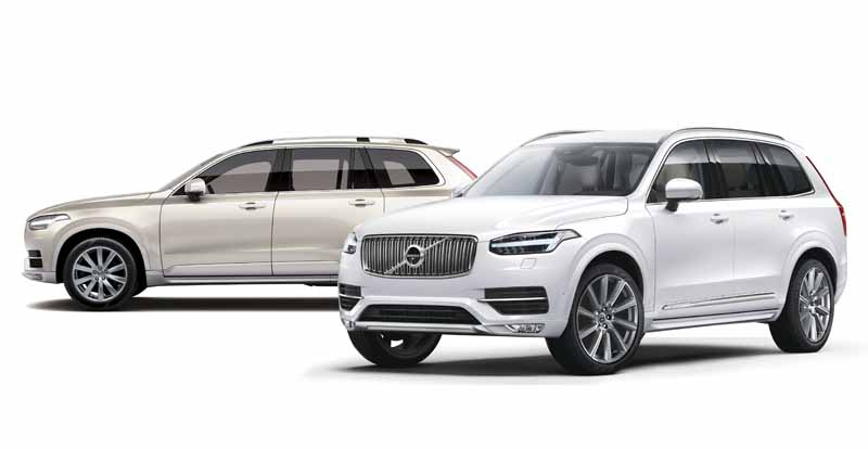 XC90 D5 AWD Momentum(奥) XC90 D5 AWD Inscription(手前)