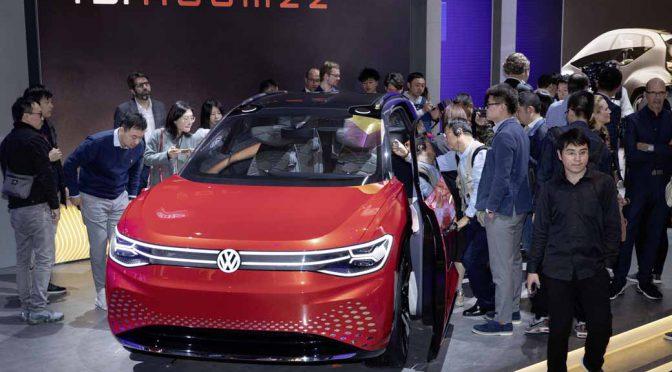 独VW、上海モーターショーでID. ROOMZZを世界初披露