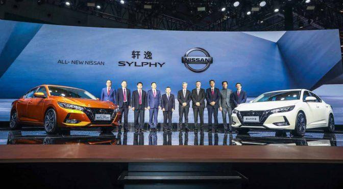 日産自動車、新型「シルフィ」を上海で世界初披露