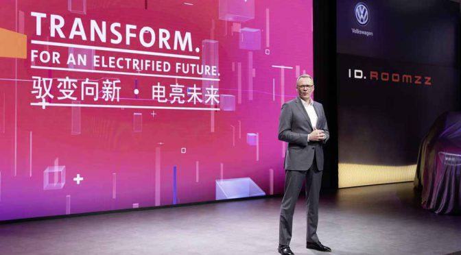 e-モビリティ戦略で中国に傾倒するフォルクスワーゲン