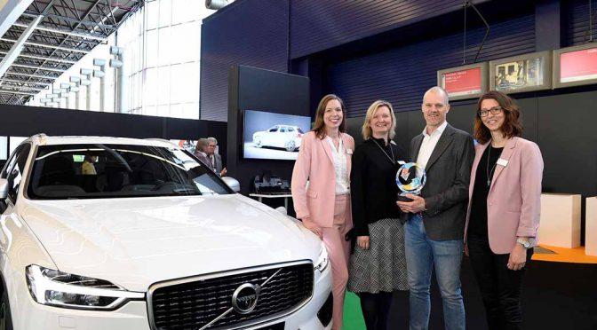 ボルボ、環境貢献で「欧州プラスチック・リサイクリング賞」獲得