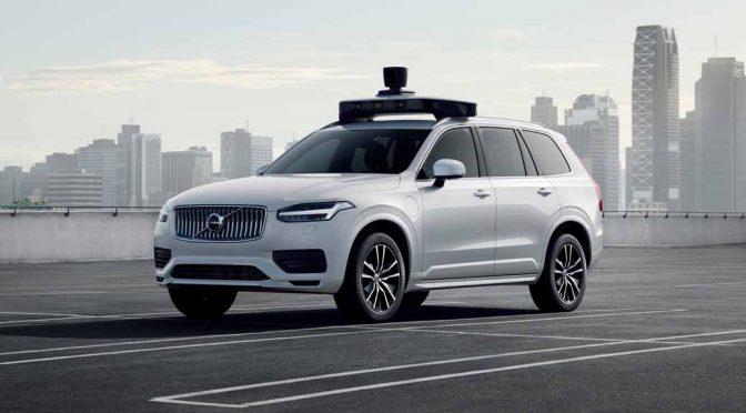 ボルボ・カーズとウーバー、自動運転用の生産車を発表