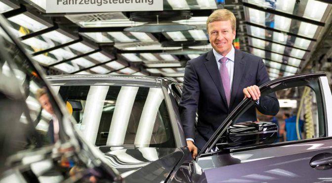 BMW AGのクリューガー社長が退任、後任はオリバー・ツィプセ氏に