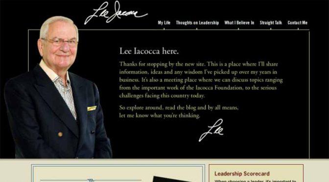クライスラー復活の立役者リー・アイアコッカ氏、94歳で逝去