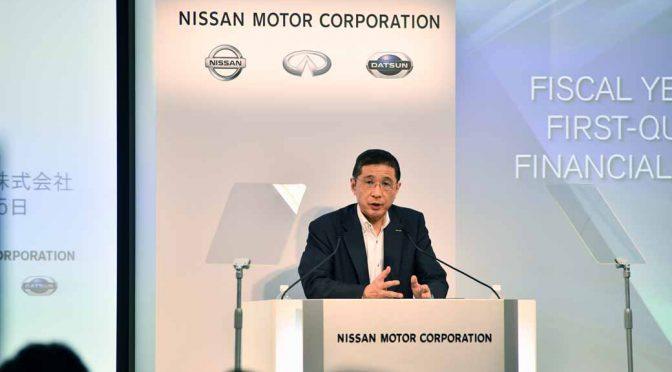 日産自動車、事業改革。規模追求を変更し収益重視へ