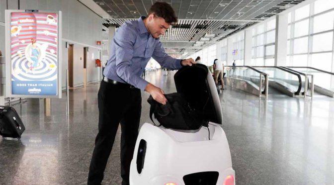 伊Yape社、独空港でロボット車両による配送実験を開始