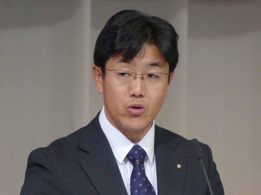 ハスラー開発担当の同社チーフエンジニアの竹中秀和氏