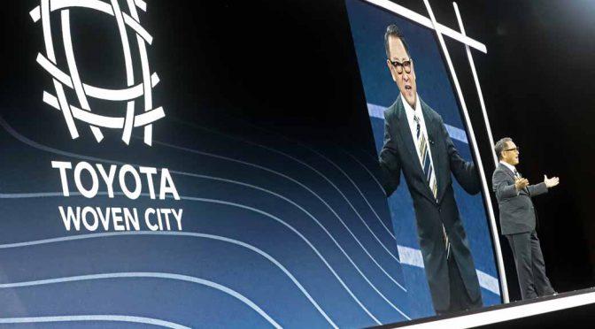 トヨタ、東富士のスマートシティ建設をCES2020で宣言