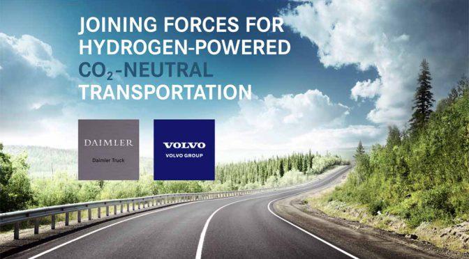 ボルボとダイムラー、燃料電池の合弁量産事業を始動