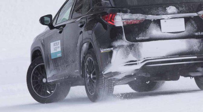 ミシュラン、新スタッドレスの「X-ICE SNOW」発表
