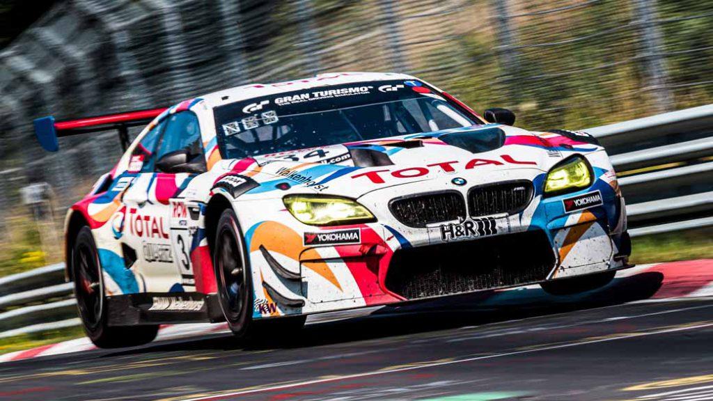 写真は2020年のNLSのSP9 Proクラスチャンピオンを獲得した「Walkenhorst Motorsport」の34号車「BMW M6 GT3」