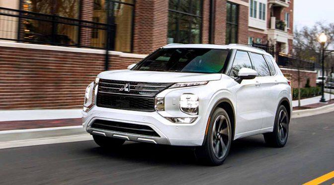 三菱自動車、新型アウトランダーを4月から北米で発売