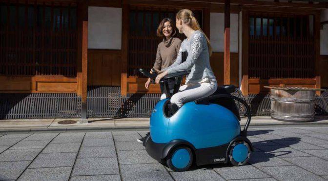 テムザック、京都太秦で「乗れるロボットRODEM」の体験実証