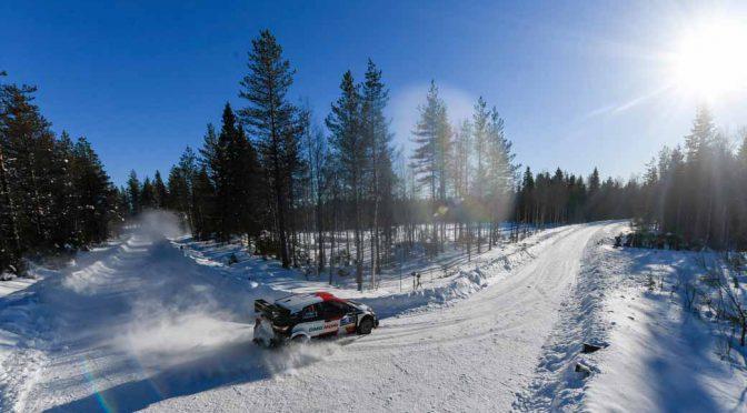 トヨタの勝田貴元、WRCフィンランドで総合6位を獲得