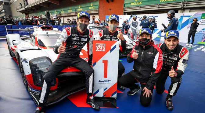 トヨタ、WEC2021の開幕初戦で総合優勝を獲得